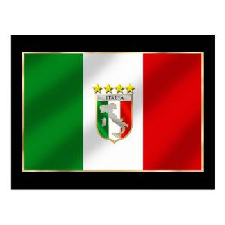Italia 4 mide el tiempo del camisetas y de los reg postal