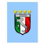Italia 4 regalos del fútbol de los campeones del m