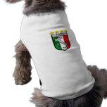 Italia 4 regalos del fútbol de los campeones del m ropa de perros
