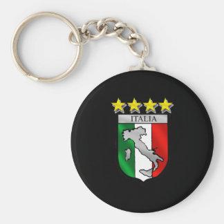 italia 4 stars world champions soccer gifts keychain