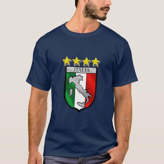 italia 4 stars world champions soccer gifts T-Shirt