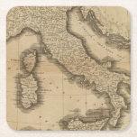 Italia 5 posavasos personalizable cuadrado