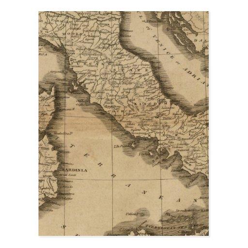 Italia 5 postales