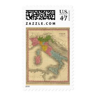 Italia 8 sellos postales