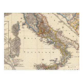 Italia adiectis iis postcard