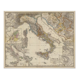 Italia adiectis iis poster