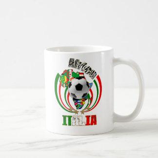 Italia Africa Soccer Italy flag Soccer Ball Gifts Coffee Mug