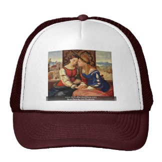 Italia And Germania By Overbeck Friedrich Trucker Hat