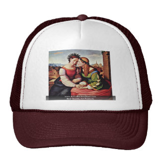 Italia And Germania (Shulamith And Mary) Trucker Hat