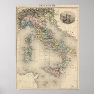 Italia anterior póster