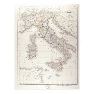 Italia antes de la unificación tarjeta postal