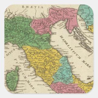 Italia Antiqua Square Sticker
