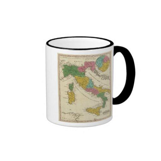 Italia Antiqua Taza A Dos Colores
