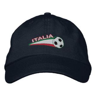 Italia azzurri embroidered baseball cap