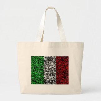Italia - bandera bolsa tela grande