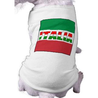 Italia-Bandera de Italia Prenda Mascota
