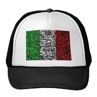 Italia - bandera gorro de camionero