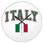 Italia + Bandera Relojes
