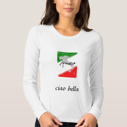 Italia, bella del ciao polera