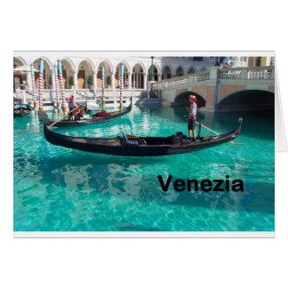 ¡Italia Bella Venezia! (St.K) Tarjeton