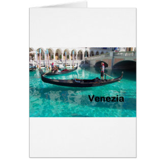 ¡Italia Bella Venezia! (St.K) Tarjeta