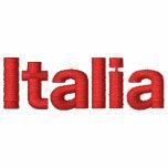 Italia bordó la bandera italiana de la sudadera co