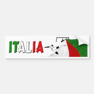 Italia Bumper Sticker