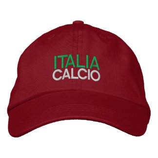 ITALIA CALCIO EMBROIDERED BASEBALL CAP