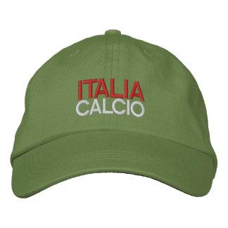 ITALIA CALCIO EMBROIDERED BASEBALL HAT