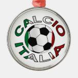 Italia Calcio Italy Football Christmas Ornaments