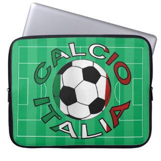 Italia Calcio Italy Football Computer Sleeves