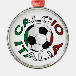 Italia Calcio Italy Football Metal Ornament