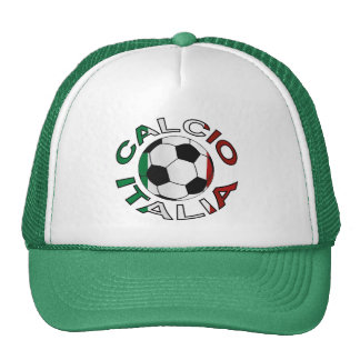 Italia Calcio Italy Football Trucker Hat