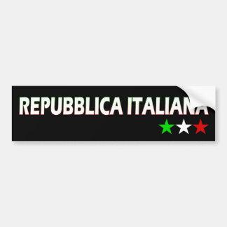 Italia Pegatina De Parachoque