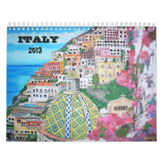 Italia, calendario 2013