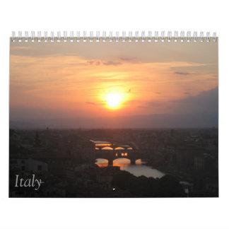 Italia Calendario De Pared