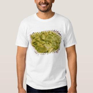 Italia, Camogli. Placa de las pastas con pesto Polera