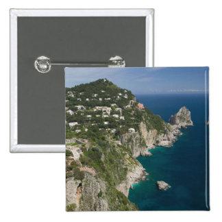 ITALIA, Campania, (bahía de Nápoles), CAPRI: Pins