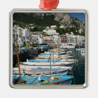 ITALIA Campania bahía de Nápoles CAPRI Puert Ornaments Para Arbol De Navidad