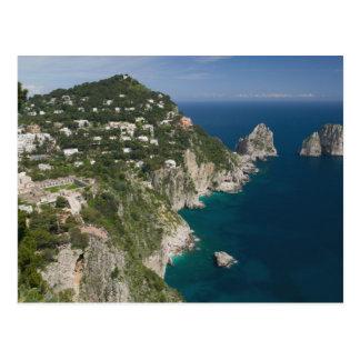 ITALIA, Campania, (bahía de Nápoles), CAPRI: Tarjeta Postal