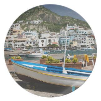 ITALIA, Campania, (bahía de Nápoles), ISQUIONES, Plato