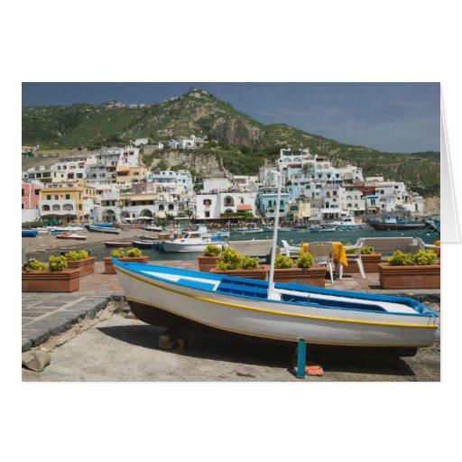 ITALIA, Campania, (bahía de Nápoles), ISQUIONES, Tarjeton