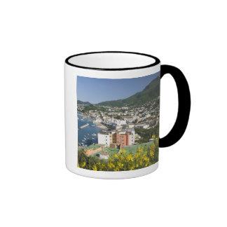 ITALIA, Campania, (bahía de Nápoles), ISQUIONES, Taza De Dos Colores