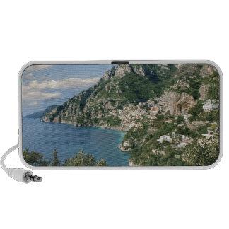 Italia, Campania, península de Sorrentine, Positan iPhone Altavoz