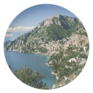 Italia Campania península de Sorrentine Positan Plato De Comida