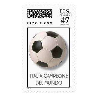 ITALIA CAMPEONE DEL MUNDO POSTAGE STAMP