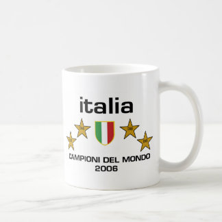 Italia Campioni Del Mondo 2006 - Scudo Coffee Mug