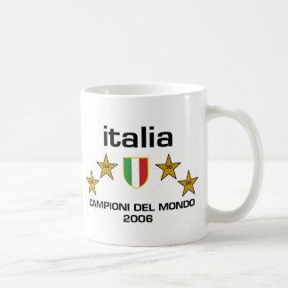 Italia Campioni Del Mondo 2006 - Scudo Taza Básica Blanca