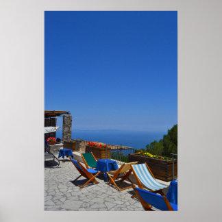 Italia Capri Poster