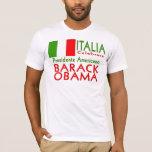 ITALIA CELEBRARE Obama Giorno di Inaugurazione Playera